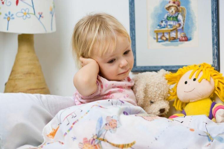У ребенка 3 года сильно болит голова температуры нет что делать