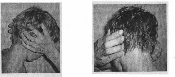Методика пальпации затылочных лимфоузлов (фото: www.zdravosil.ru)